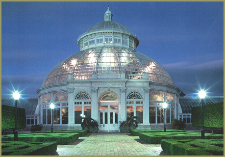 The Conservatory at the Bronx Botanical Gardens