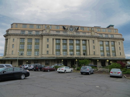 Radisson Hotel, former DL&W train depot in Scranton, Pennsylvania.