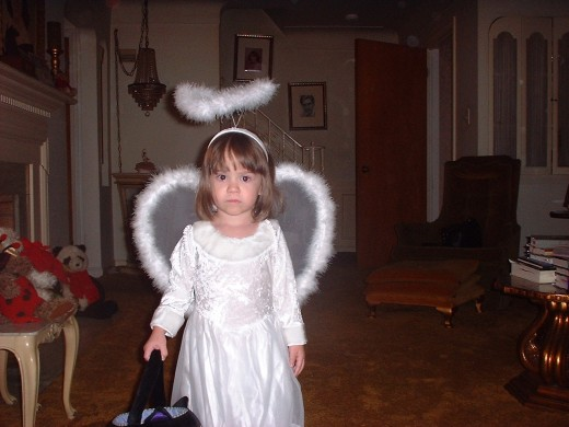 What an angel!