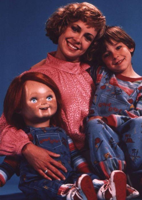 Chucky, Karen, and Andy