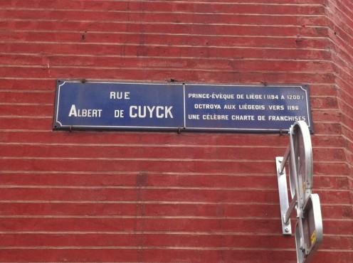 Rue Albert de Cuyck