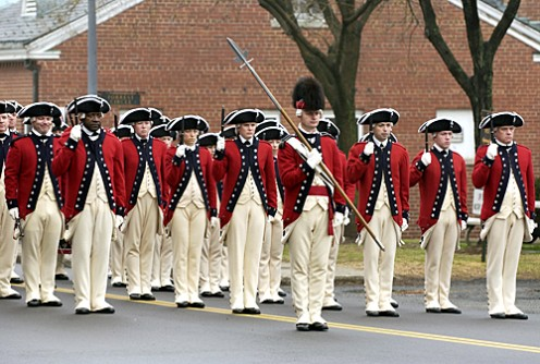 Fife and Drum Corps, United States Army 3rd Infantry Regiment, tribute to the British.