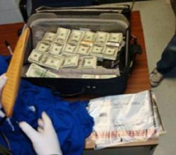 This is chump change to a big time dealer,but was seized by Border Patrol in California.