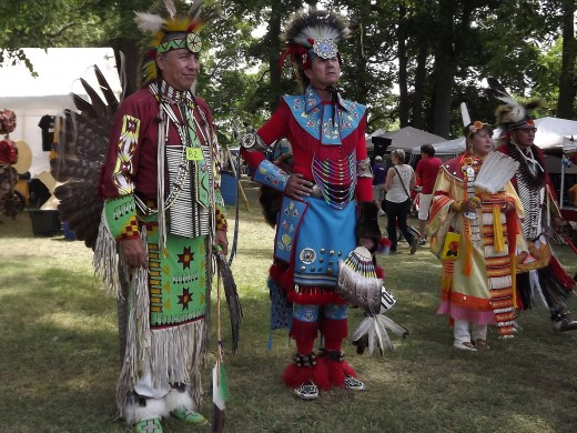 The American Indian Culture is present in many states throughout America.. The first Thanksgiving feast in America  was celebrated with the gathering of Indians and colonists.