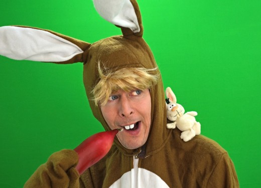 Children love the Easter Bunny; so do adults. This costume can be found hopping at any Easter celebration.