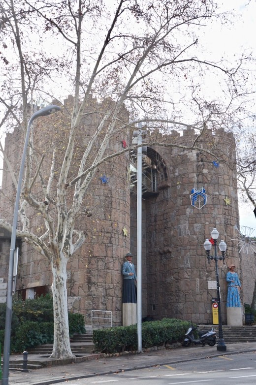 Entrance to Poble Espanyol