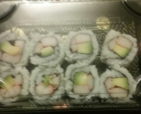 California roll, served by Chen's Express