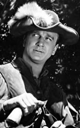 Leslie Neilsen as the Swamp Fox. from fiftiesweb.com