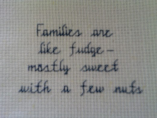 Families are...