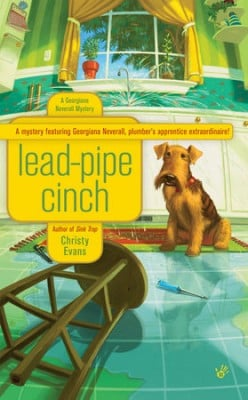 Book Review: Lead-Pipe Cinch by Christy Evans