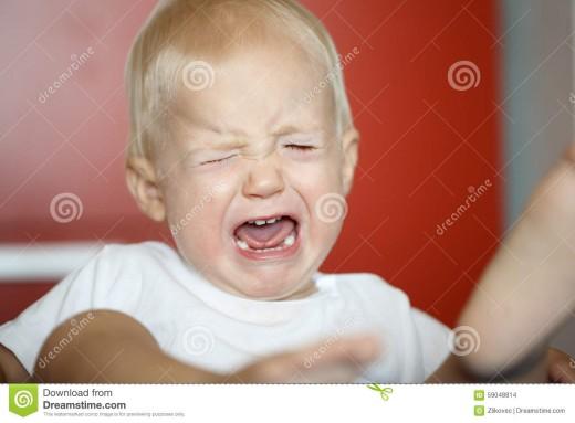 That all too familiar tantrum.
