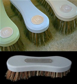 Good old fashioned scrubbing brushes