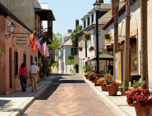 Beautiful St, Augustine