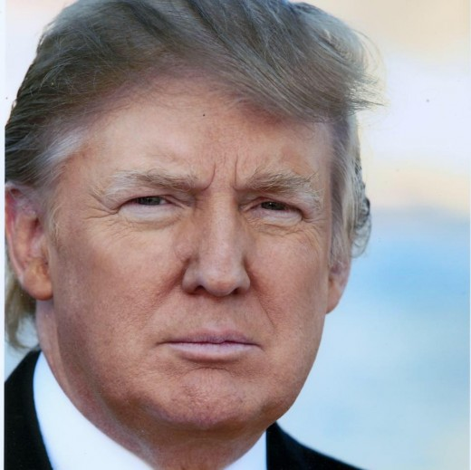 United States President Donald J Trump.
