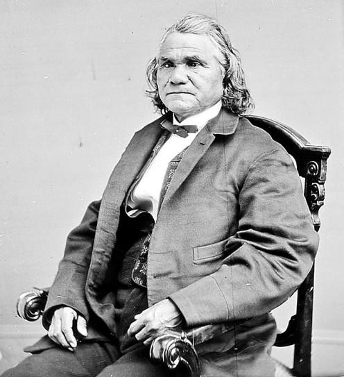 General Stand Watie, Cherokee Nation.