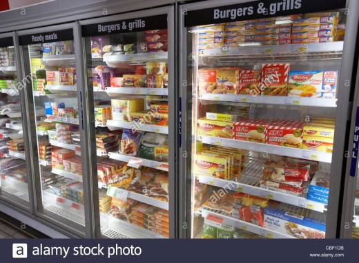 An American staple, frozen foods provide flavor and convenience