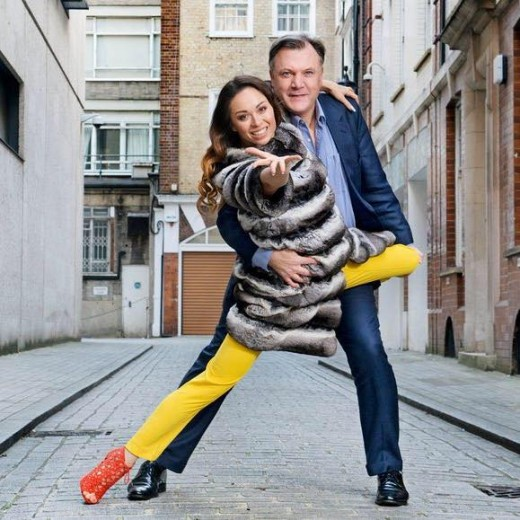 Ed Balls with his 'Strictly Come Dancing' partner.