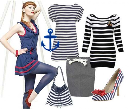Cruise Clothing the Sailor Look and Nautical Fashion Clothes | HubPages