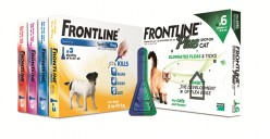 Frontline and Frontline Plus Effectiveness Against Fleas and Ticks in the United Kingdom. Does Frontline Still Work?