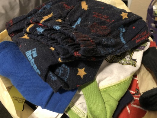 Old clothing can sit in your closet and drawers for years. Going through your clothing to find what items are no longer needed not only can give you funds from sales but can make you feel better about your surroundings.