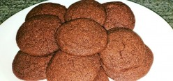 Homemade Simple Eggless Chocolate Cookies Recipe