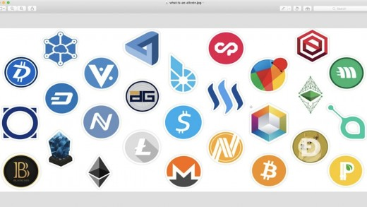 Different coin logos
