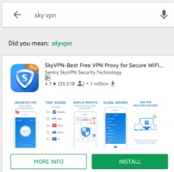 Use Sky Vpn for Gtm (Globe Telecoms)