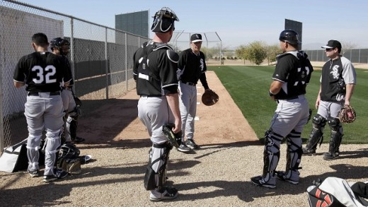 Framing pitches for strikes doesn't appear to be a priority for White Sox catchers.