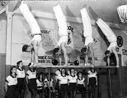 Sokol gymnastics exhibition