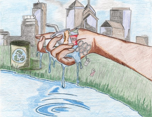 Green City, Clean Waters Art Contest: 2nd Place, 9th to 12th Grades