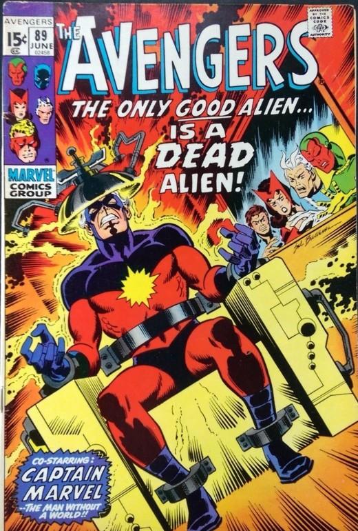 Avengers 89: The Start of the Kree-Skrull War!