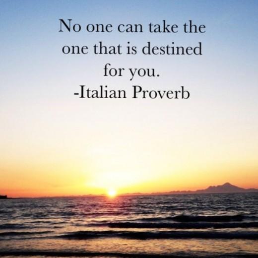 Beautiful Italian proverb