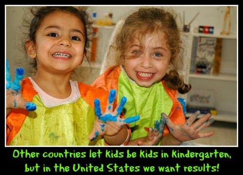 30 Ways American Kindergarten Should Become More Like Those in Germany, Japan, and Finland