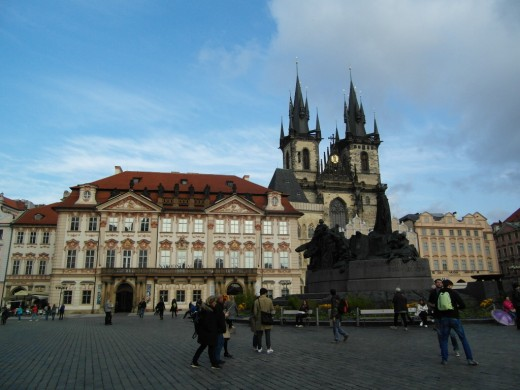 Prague Old Town Square.