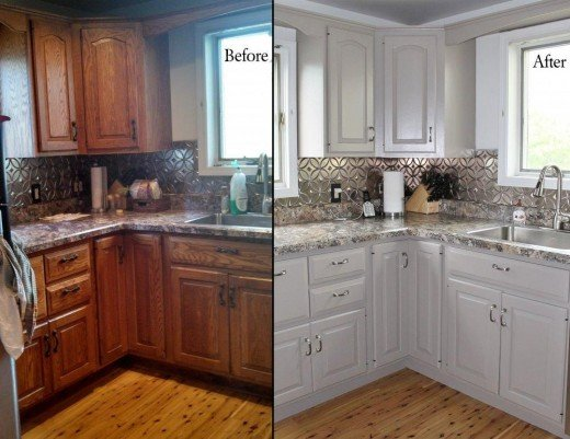 Tips For Spray Painting Kitchen Cabinets
