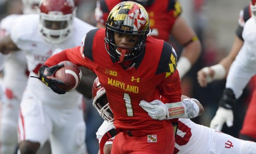 D.J. Moore, WR, Maryland