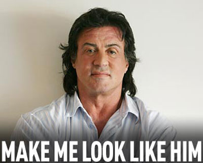 No need to look like Stallone taking HGH when you look better than him