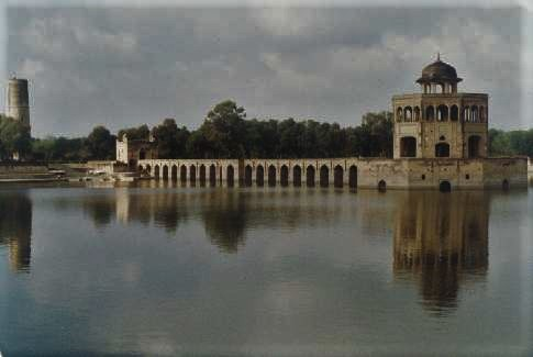 Hiran Minar, located near Lahore in Punjab province, was built by the 4th Mughal Emperor Jahangir in the memory of his pet deer.