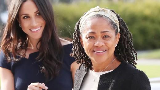 Meghan Markle and mother Doria Ragland