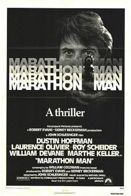 Marathon Man theatrical release poster