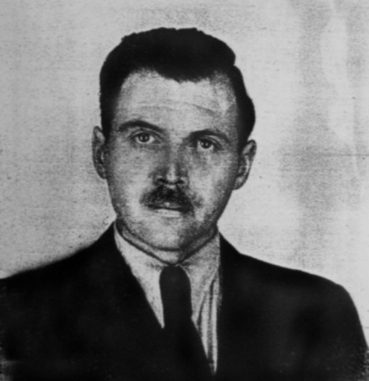 Dr. Josef Mengele, 1956.