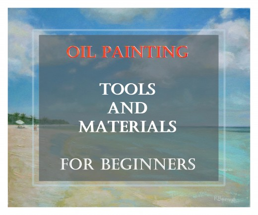 The 8 things artists need to start painting with oils. The answers to the common questions of all beginner painters. A basic oil painting supply list that can come in handy also for gift ideas.