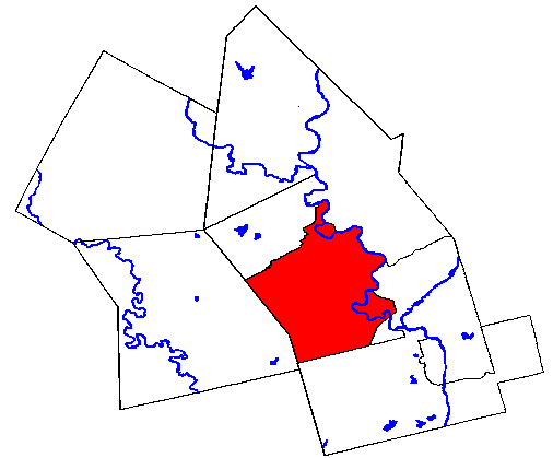 Map location of Kitchener, Ontario