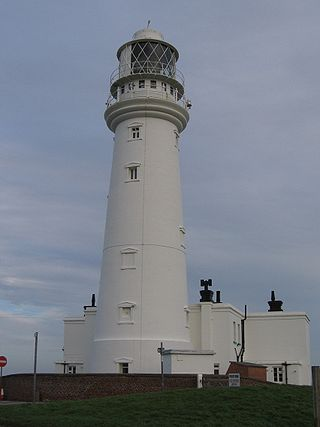 And here is the modern fully functioning lighthouse, which was completed in 1806 at a cost of £8000.