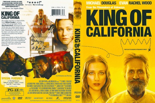 King of California DVD sleeve info