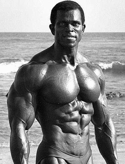 Serge Nubret had excellent chest development.