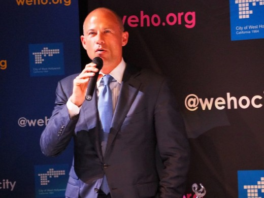 Potential presidential candidate, 47-year-old California attorney Michael Avenatti