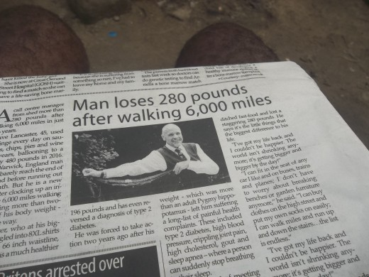 Regular brisk walking can help you loss weight