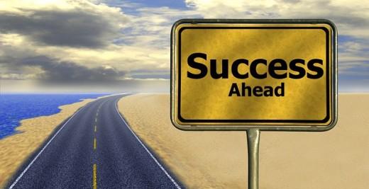 Success is ahead
