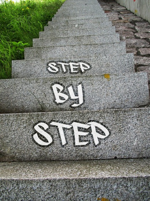 Take it one step at a time